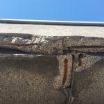 betonrot dakrand bestaande situatie 4
