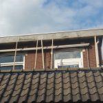 reparatie mortel aangebracht dakrand